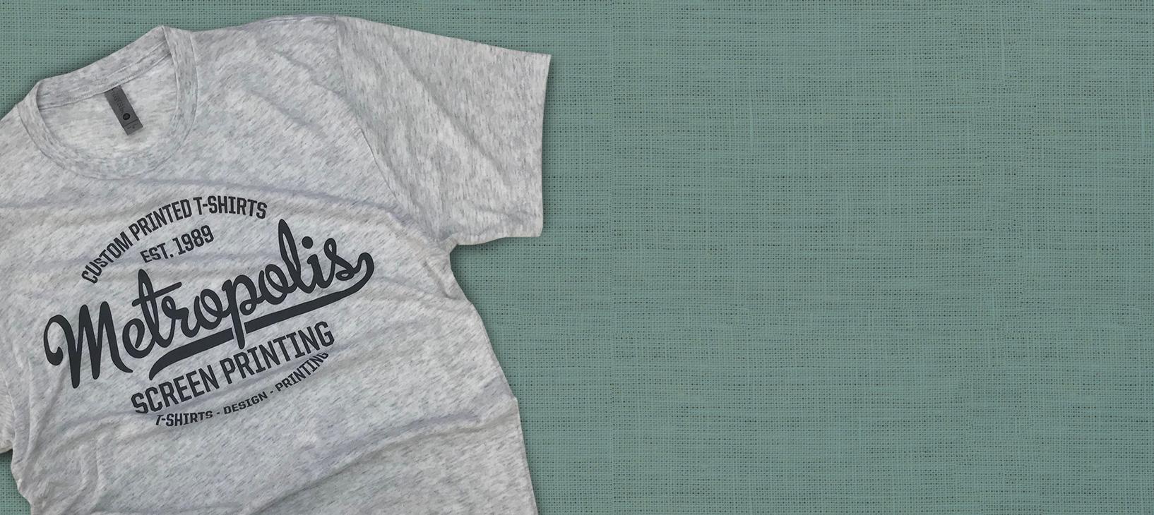Metropolis Screen Printing T-shirt