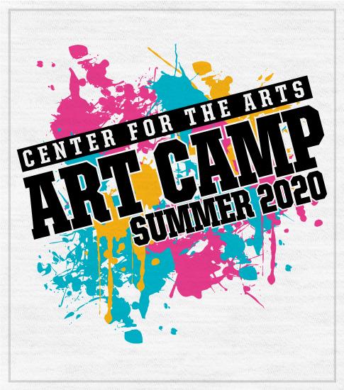 Orlando Art Camp T-shirt Splatters