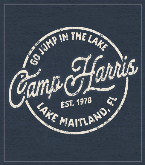 Retro Logo Summer Camp T-shirts