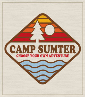 Retro Style Summer Camp T-shirt