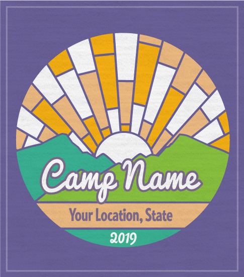 Sunrise Summer Camp T-shirt