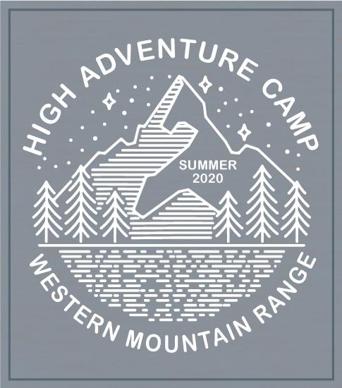 High Adventure Summer Camp T-shirt