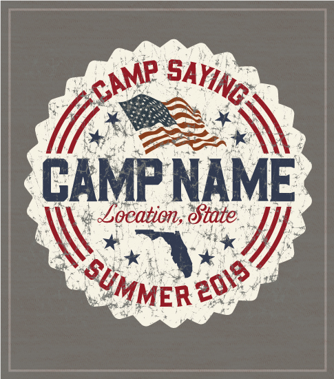 Americana Summer Camp T-shirt