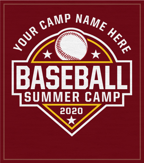 Baseball Camp T-shirt with Diamond