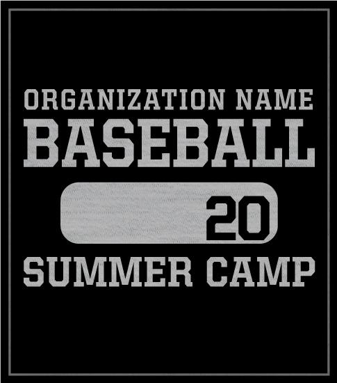 Baseball Camp T-shirt PE Style