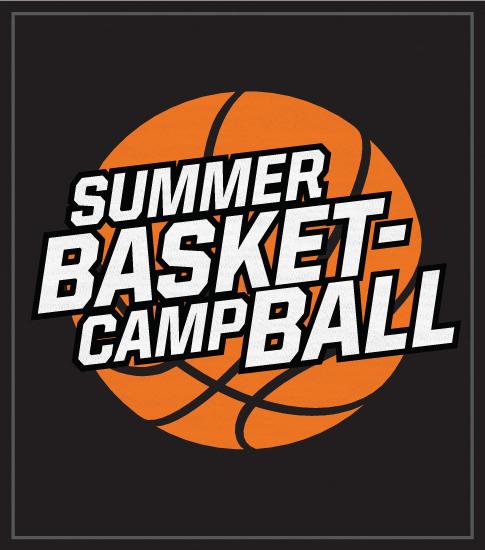 Basketball Camp T-shirt with Ball