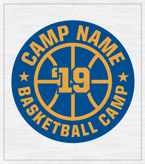 Basketball Camp T-shirt with Logo