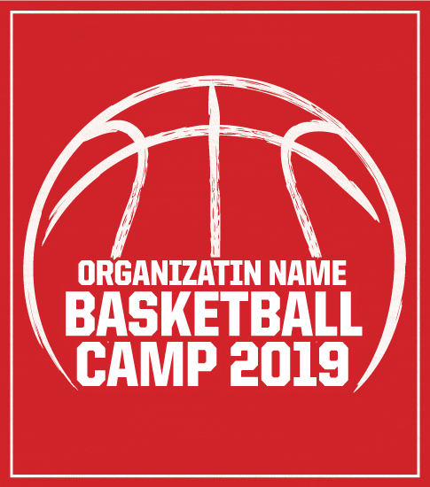 One Color Basketball Camp T-shirt
