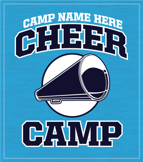 Cheer Camp T-shirt with Megaphone