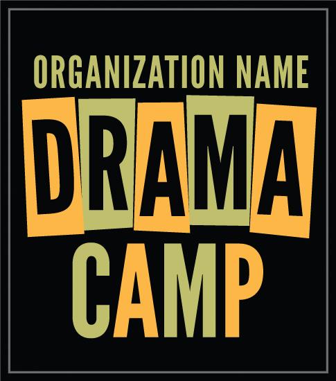 Summer Drama Camp T-shirt