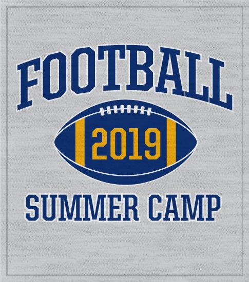Football Summer Camp T-shirts