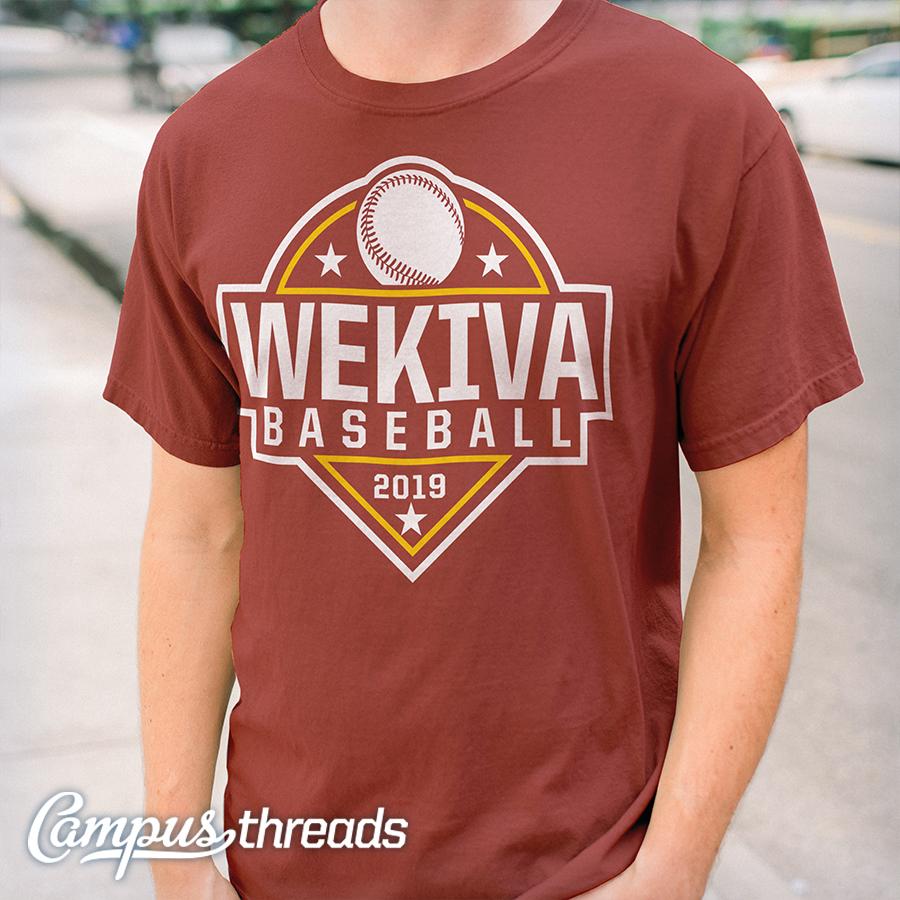Wekiva High School Baseball T-shirts