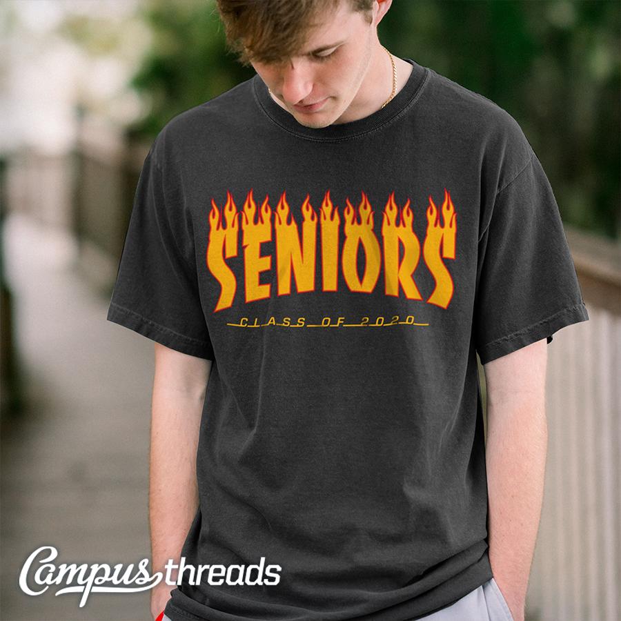 Senior Class T-shirt With Skate Logo