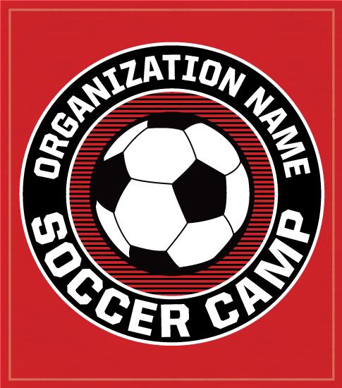 Soccer Camp Shirts with Circle Logo