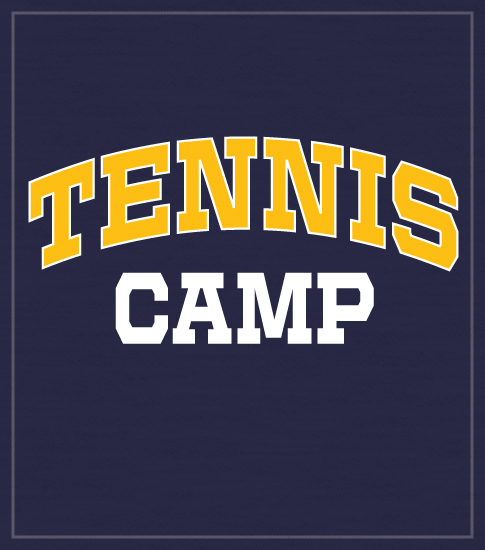 Simple Tennis Summer Camp T-shirts