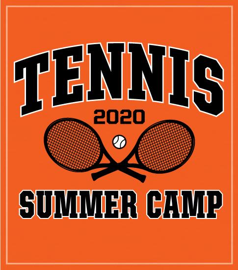 Crossed Rackets Tennis Camp Shirt