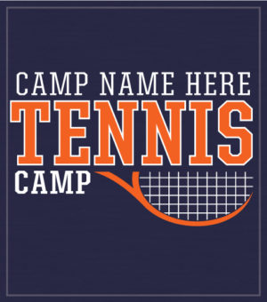 Tennis Camp T-shirt with Racket