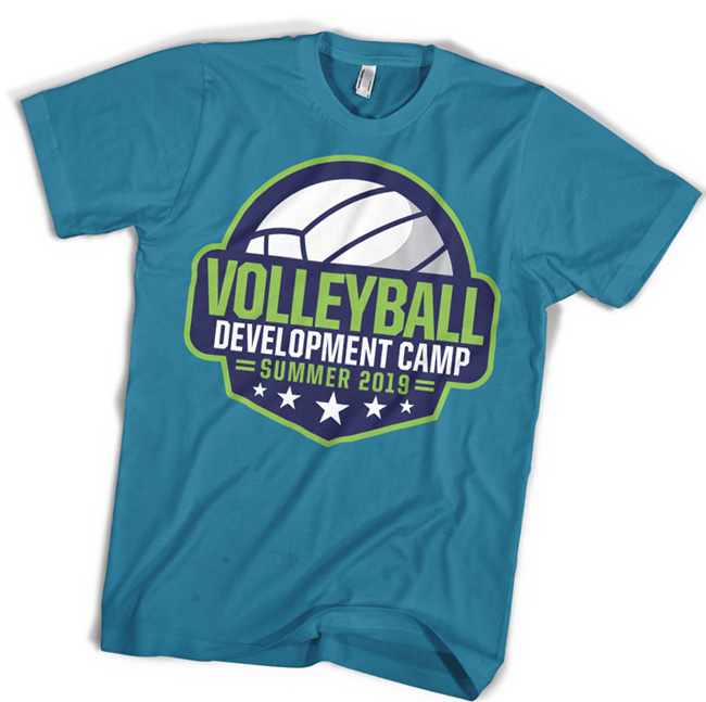Volleyball Camp T-shirt