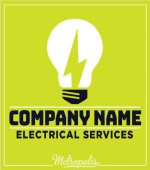 Electrician Shirts Green Bulb