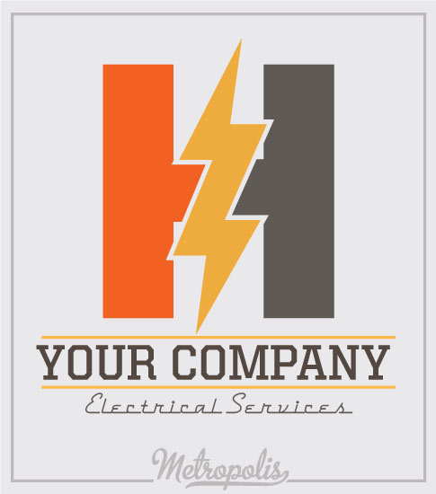 Electrician Shirts Bolt Letter