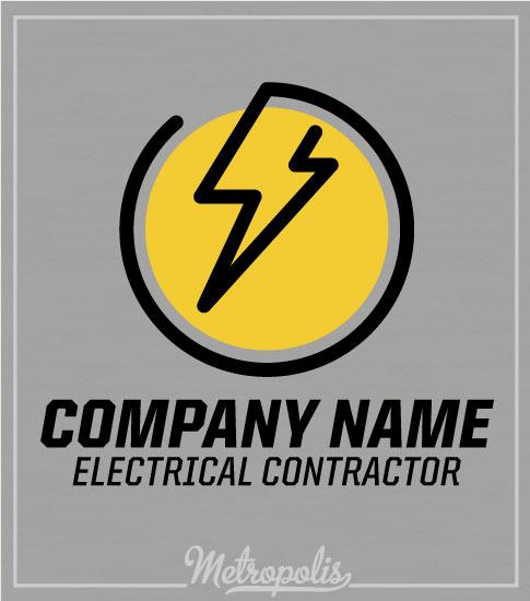 Electrician Shirts Circle