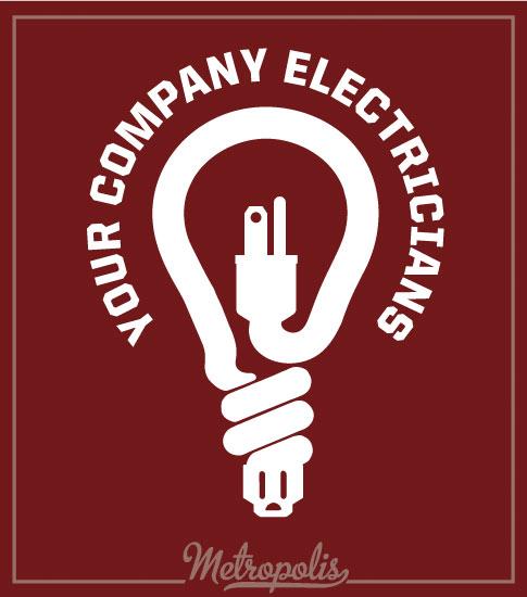Electrician Shirts Cardinal