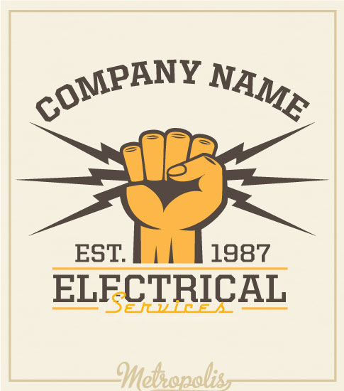 Electrician Shirts Fist