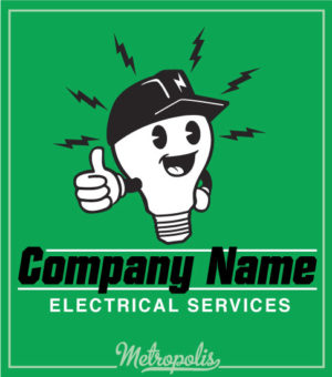 Electrician Shirt Happy Bulb